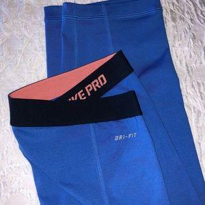 Nike Pro Dri-fit Workout Pants